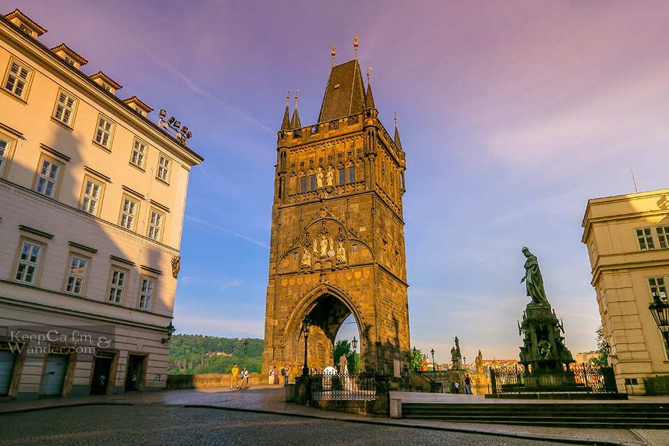 Gothic Tower Prague