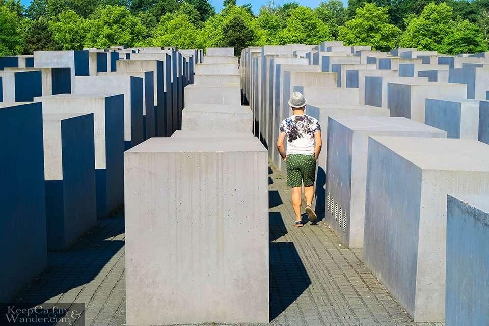 Holocaust Memorial in Berlin Tourist Attraction