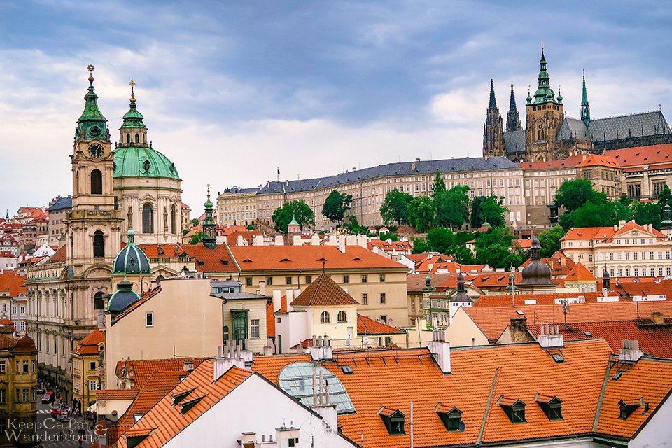Prague from the Lesser Bridge Tower