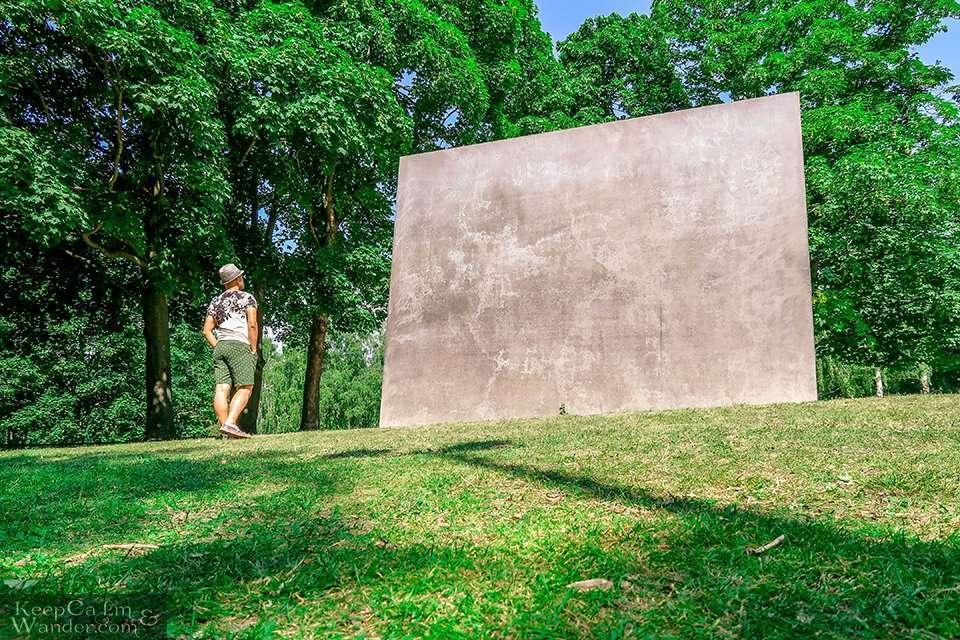 Memorial to Homosexuals Persecuted Under Nazism.
