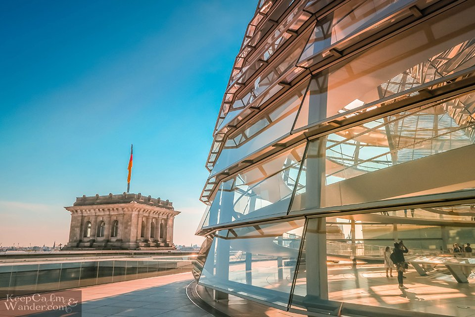 Reichstag Dome in Berlin Hotel Hostel