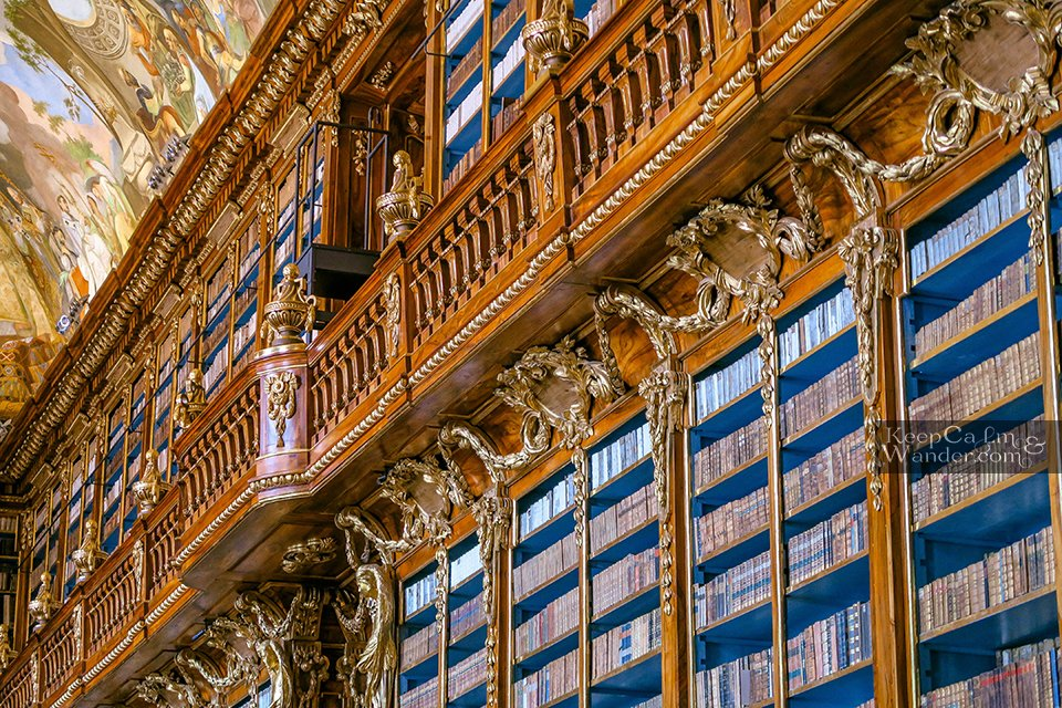 Klementinum and Strahov Monastery Library