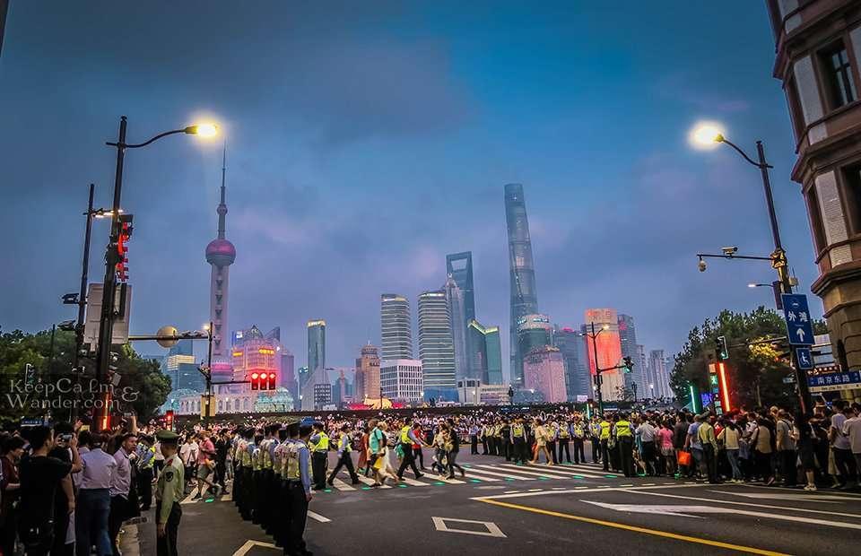 Police in China