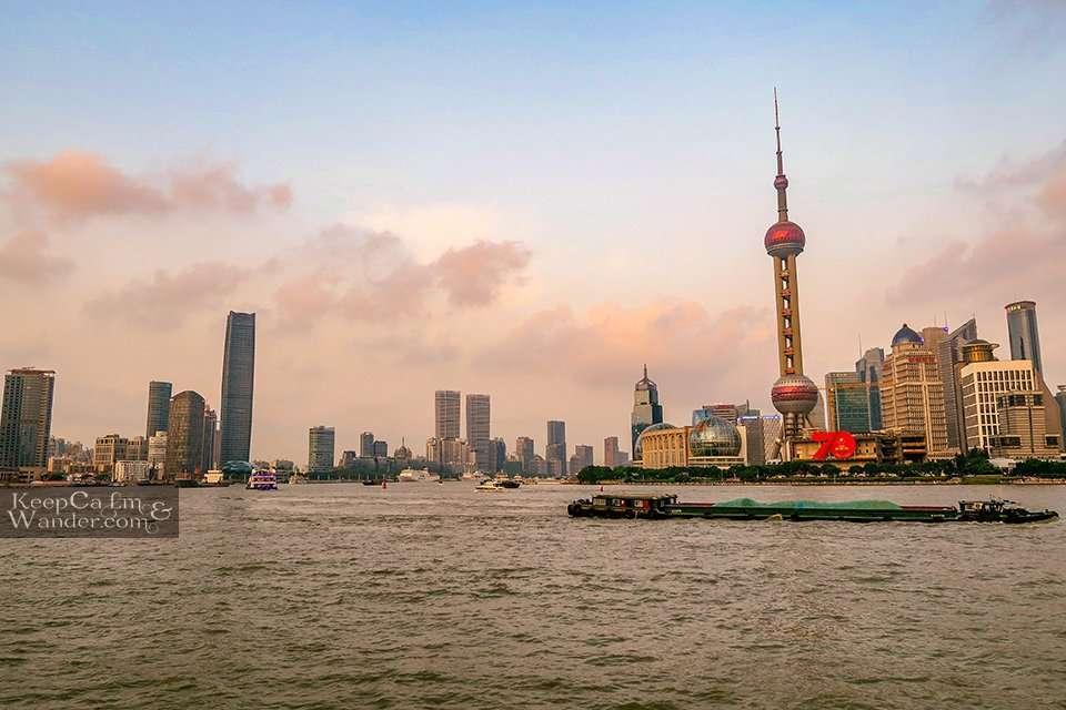 Shanghai view skyline