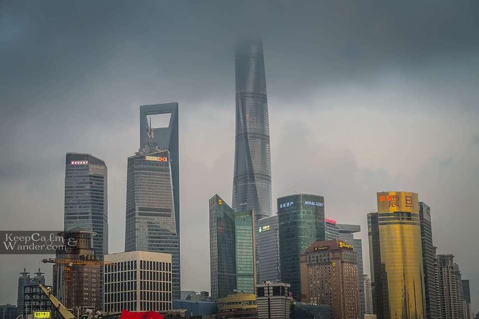 Skyscrapers China Shanghai