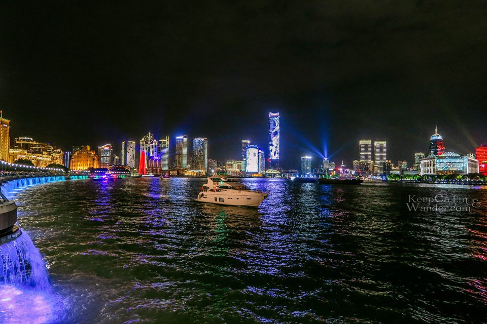 Shanghaied by The Bund at Night China
