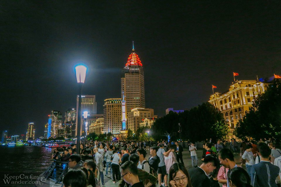 The Bund Views at Night