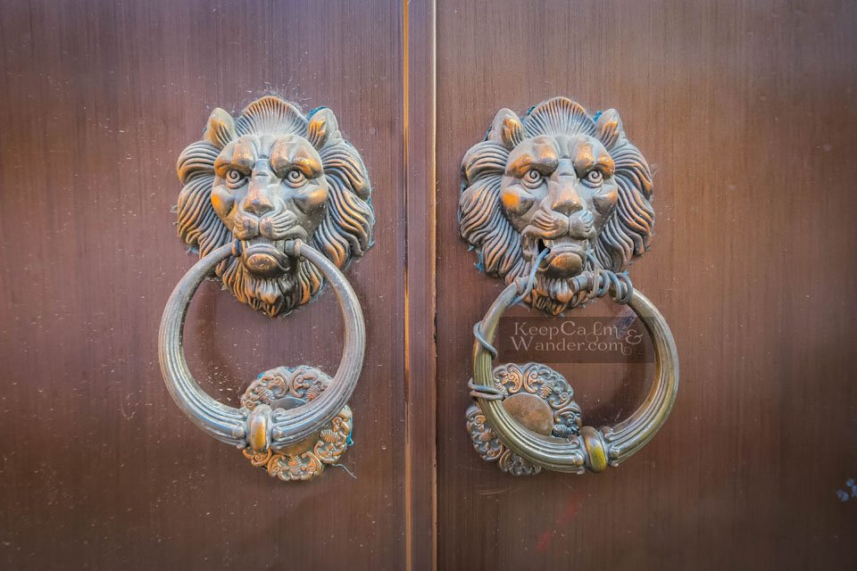 Door Handles in Chinese Doors Suzhou Travel Blog