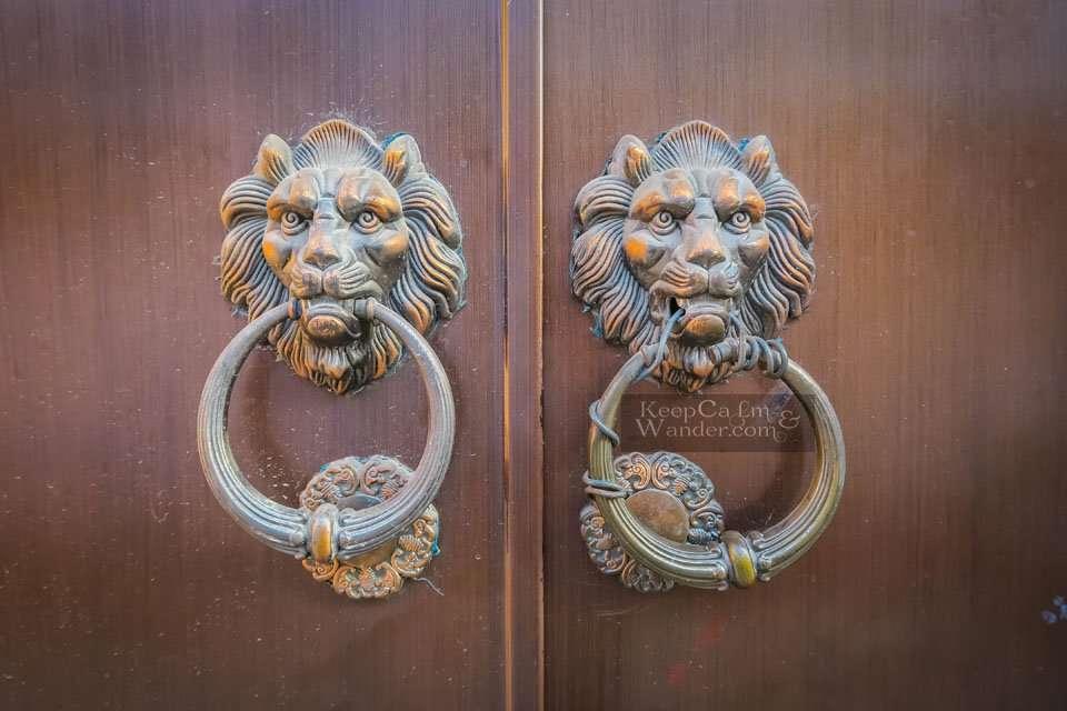 Door Handles in Chinese Doors Suzhou Travel Blog
