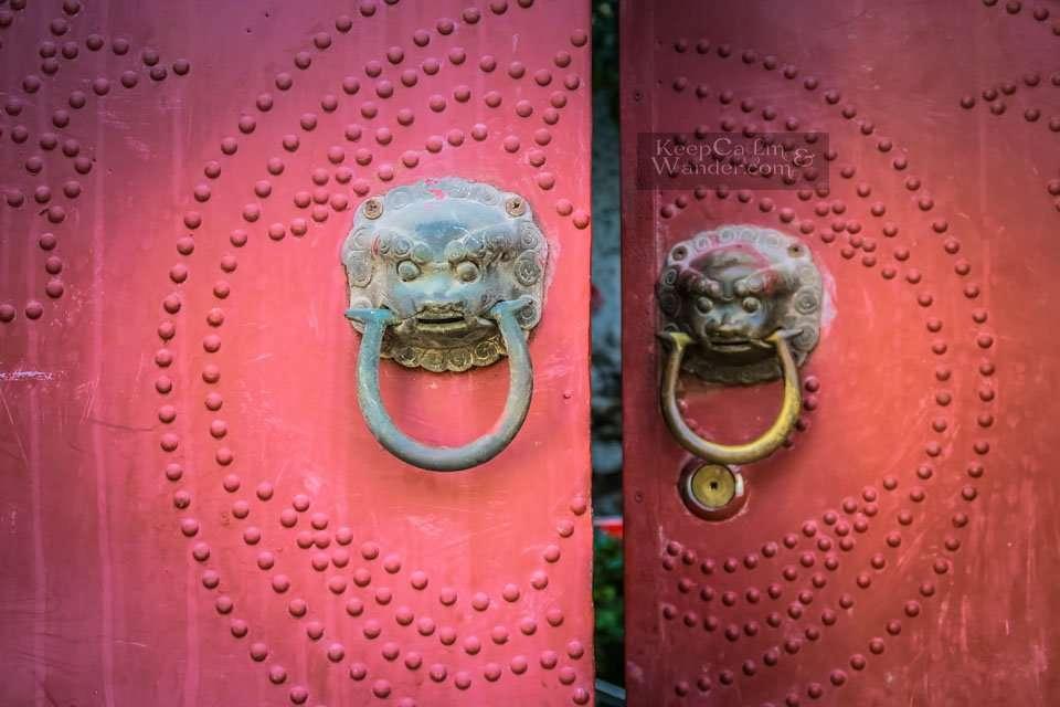 Door Handles in Chinese Doors Suzhou China