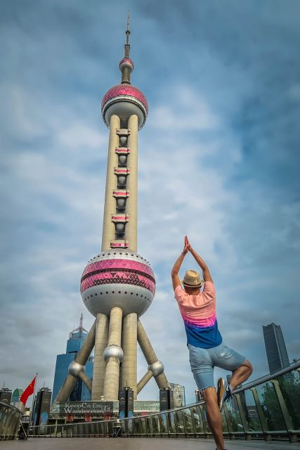Shanghai Oriental Pearl Tower is a Photographic Jewel (China).