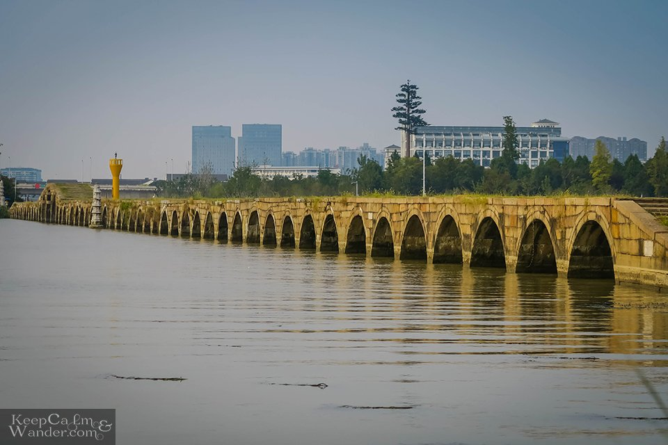 Precious Belt Bridge in Suzhou 53 arches