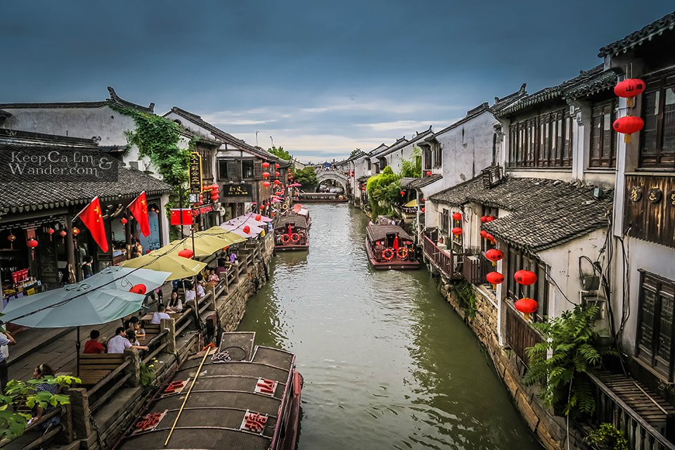 "Suzhou is called the ""Venice of the East."""