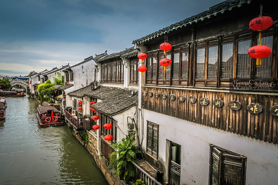 Old houses canal Suzhou things to do