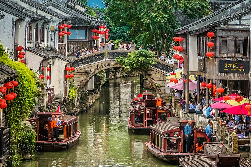 China history suzhou old street