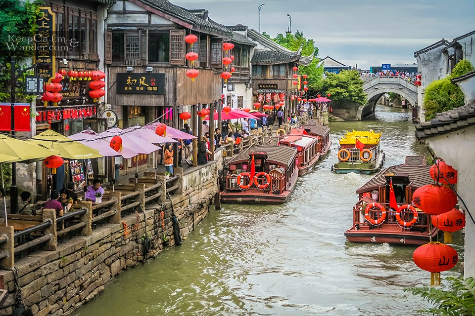 suzhou canal Venice of the east