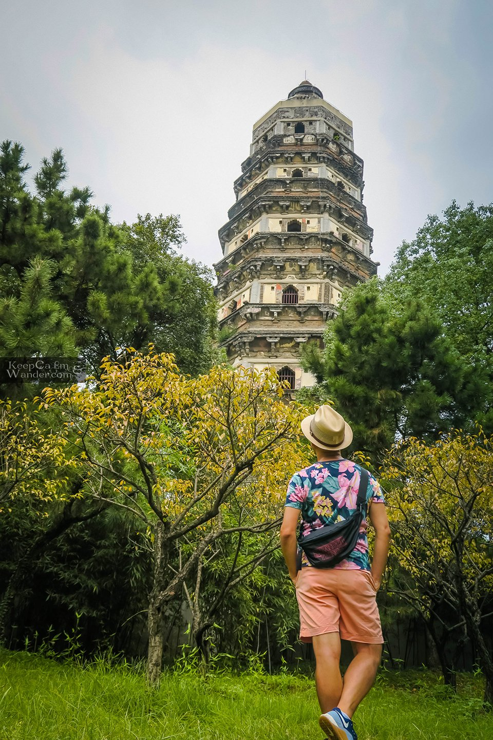 The Yunyansi Pagoda on Tiger Hill is China's Leaning Tower