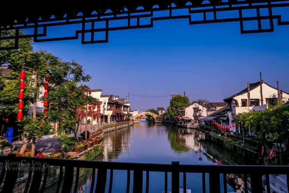 Xitang to Shanghai by Train Bus