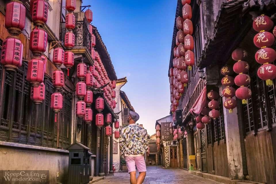 Red lanterns Chinese Travel