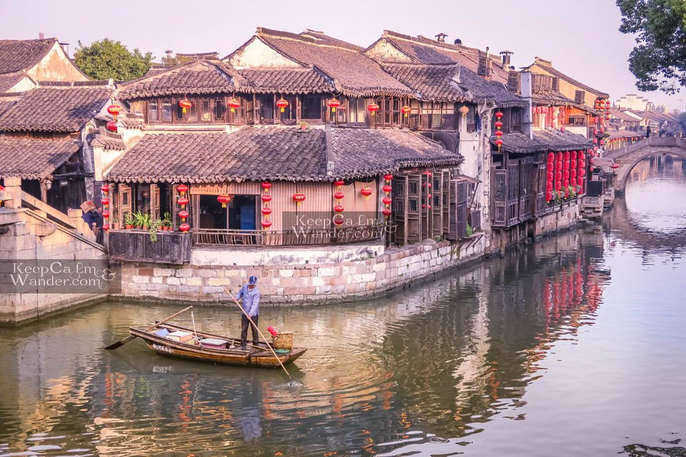 China water villages towns