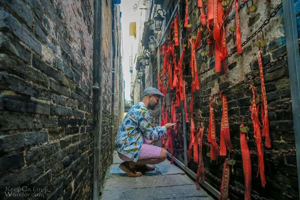 Narrow lanes Xi tang