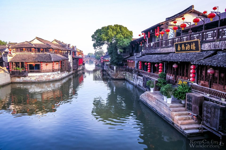 How to get to Xitang from Suzhou