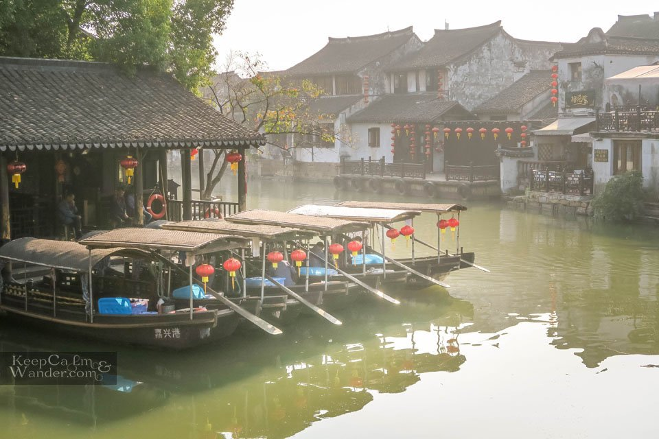 Boat ride Xitang China Travel