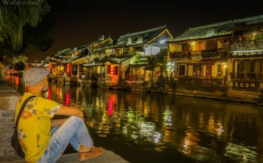 Xitang at Night Zhejiang China 1