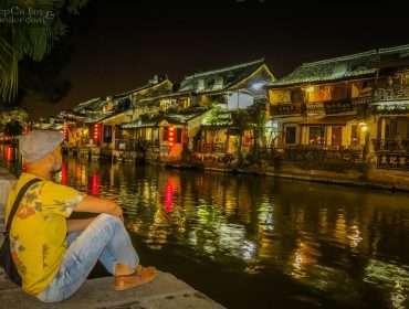 Xitang at Night Zhejiang China 1