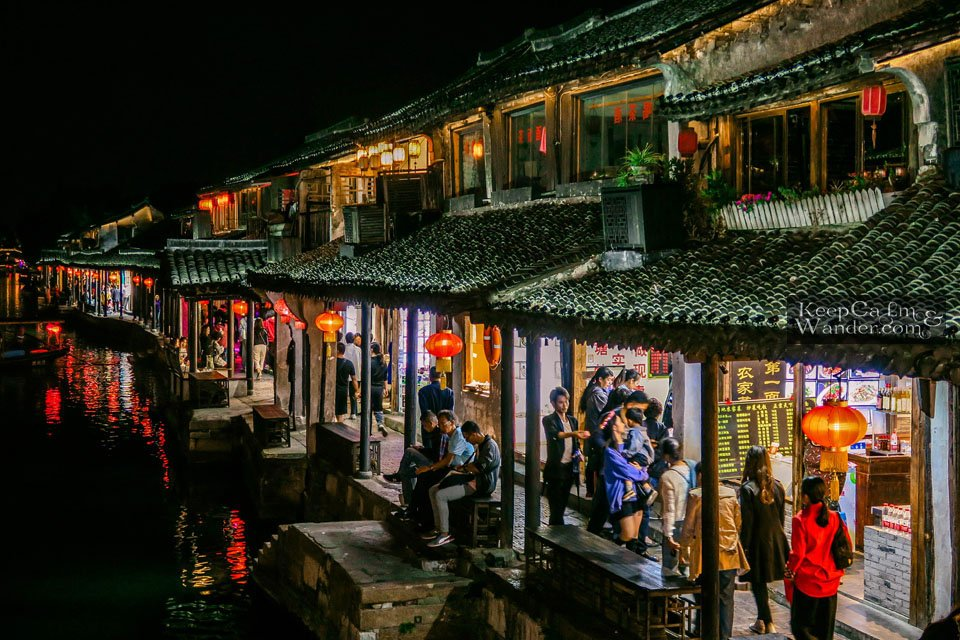 Xitang at Night China Asia Travel Blog